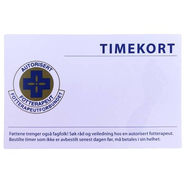 Bilde av FTF Timekort m/plass til